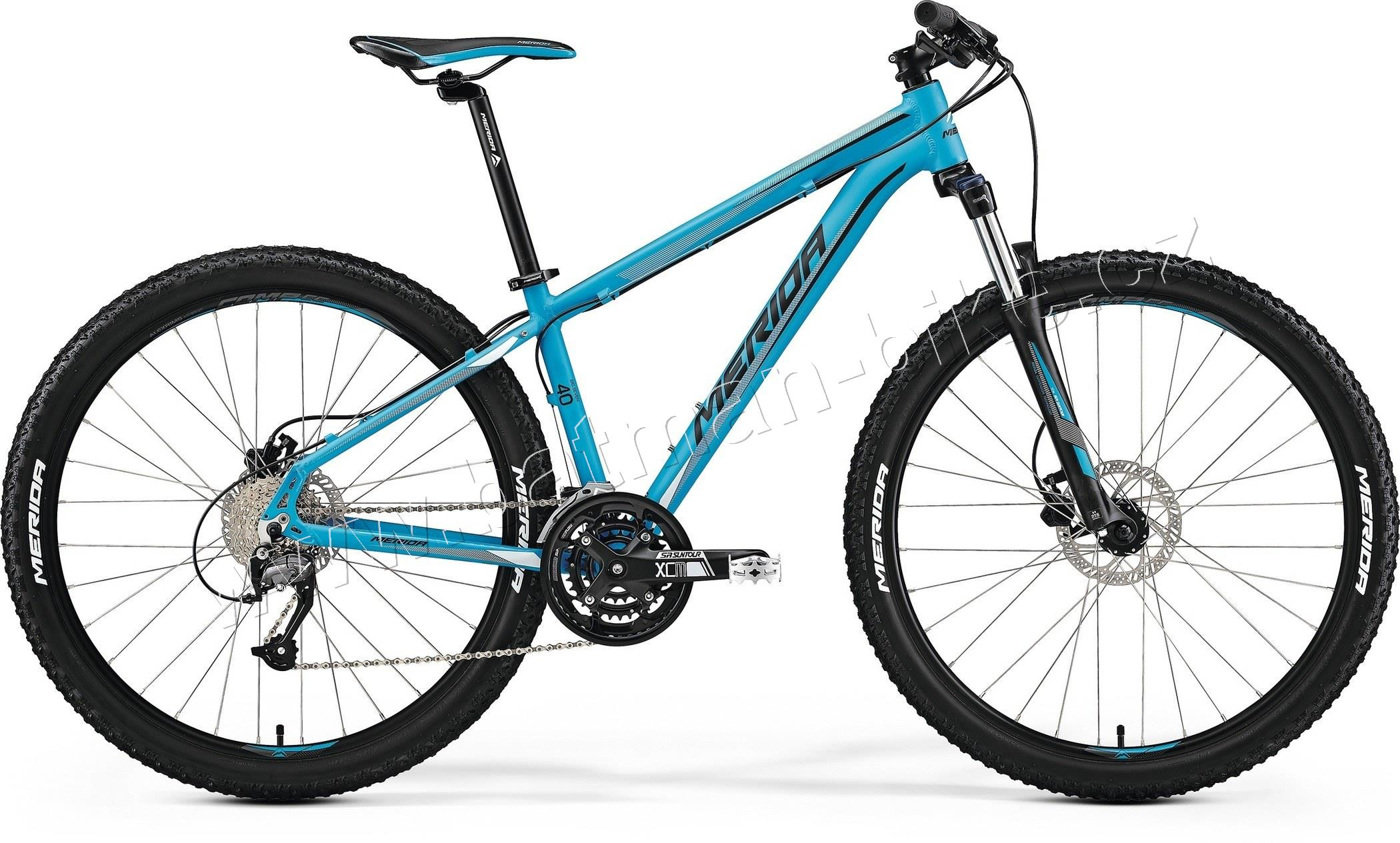 Merida BIG.SEVEN 40-D Matt Blue(Blk/Wht)