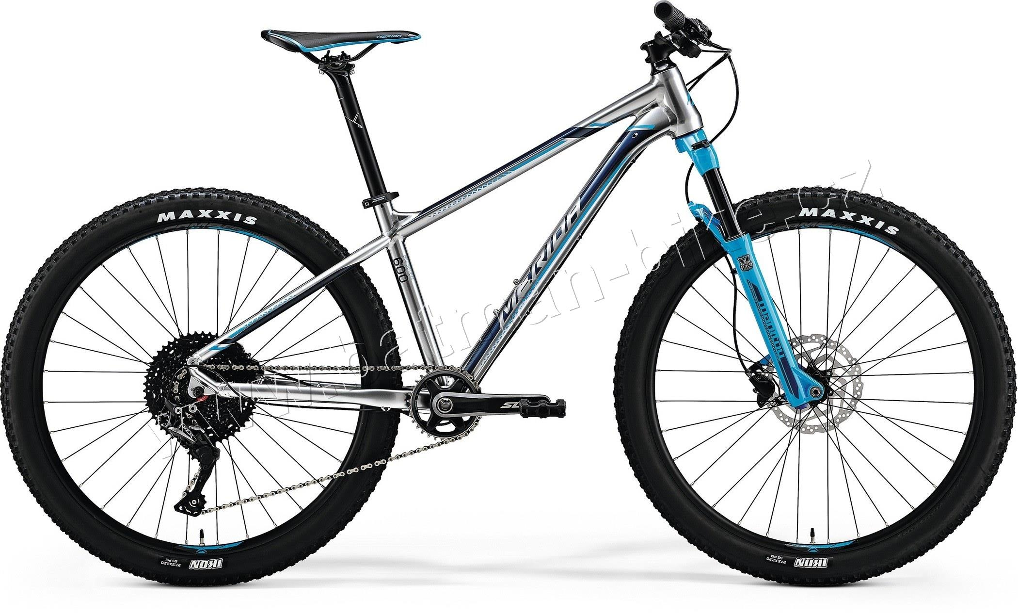 Merida BIG.SEVEN 600 Shiny Silver(Sky Blue/Blue)