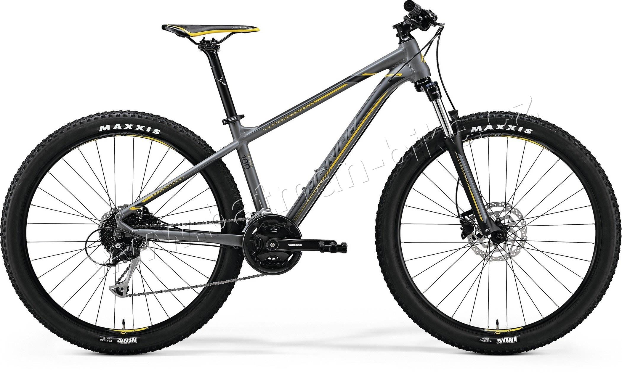 Merida BIG.SEVEN 100 Matt Grey(Yellow/Dark Grey)