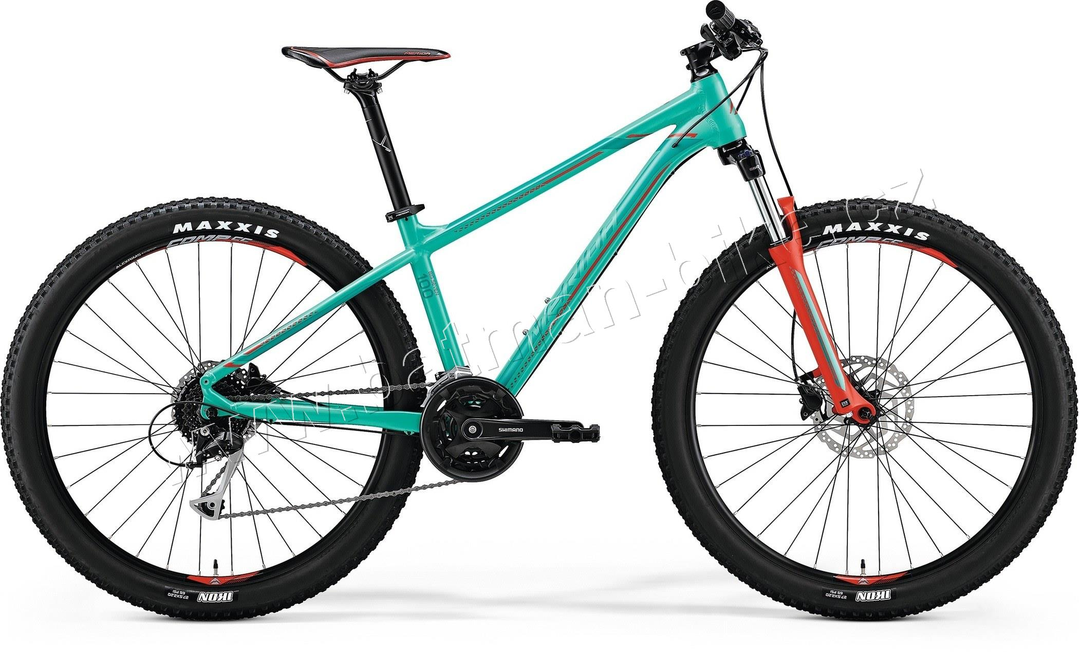 Merida BIG.SEVEN 100 Green(Red/Dark Green)