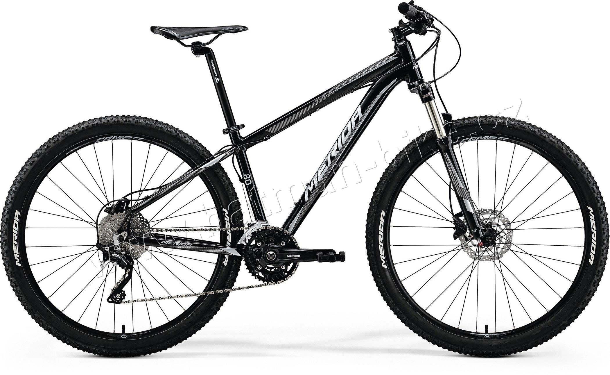 Merida BIG.SEVEN 80-D Metallic Black(Silver)