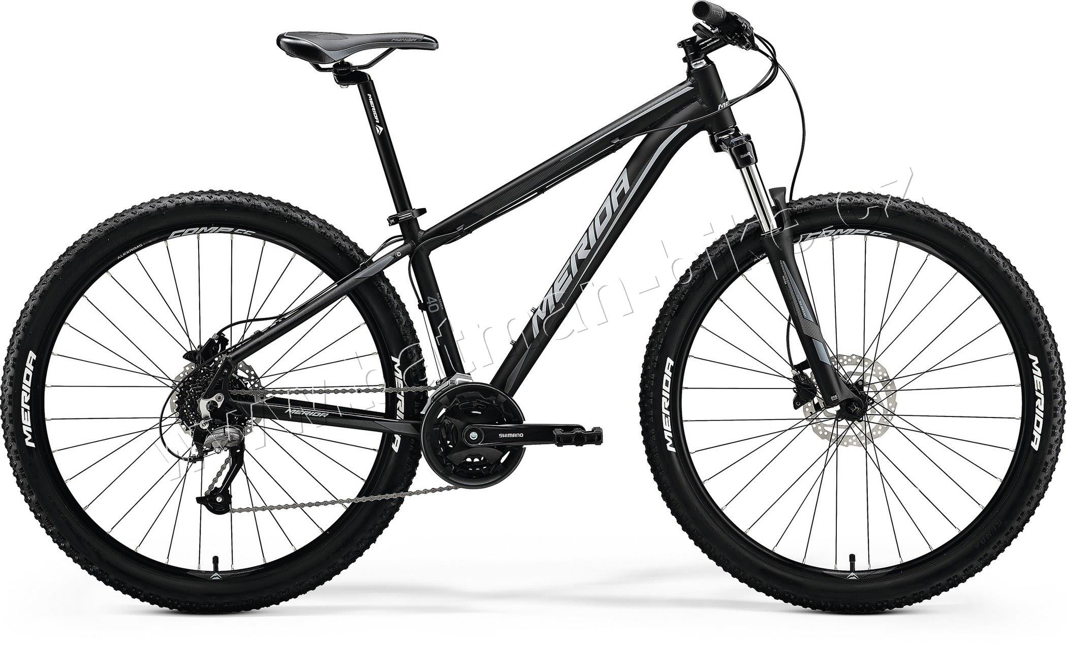 Merida BIG.SEVEN 40-D Matt Black(Grey)